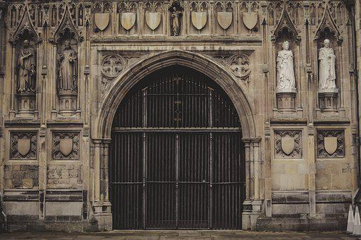 Canterbury, Cathedral, Church, England, Religious