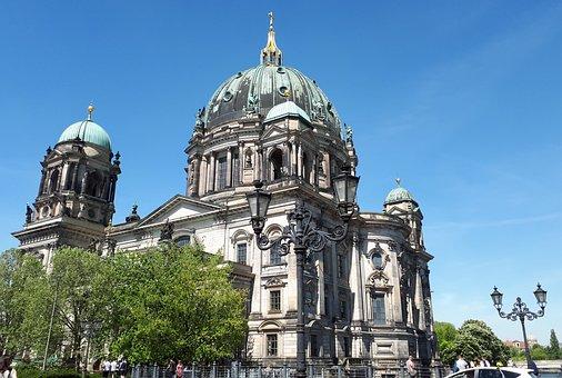 Berlin, Germany, Berlinerdom, Building, Church, Capital