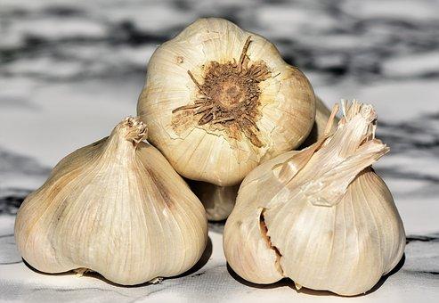 Garlic, Clove Of Garlic, Spice, Tuber, Food, Vegetables