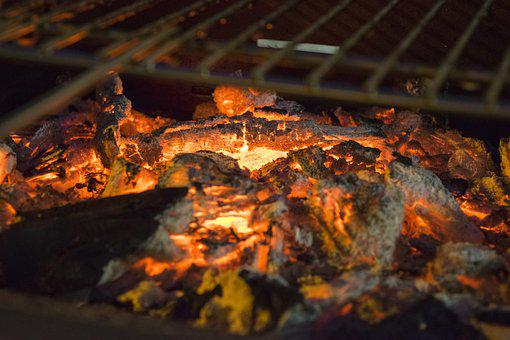 Fire, Ash, Flame, Burn, Smoke, Burning, Wood, Grill