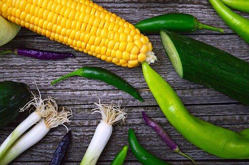 Fresh, Healthy, Vegetables, Vitamins, Vegetarian