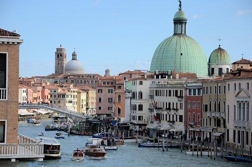 Venice, Italy, Canale Grande