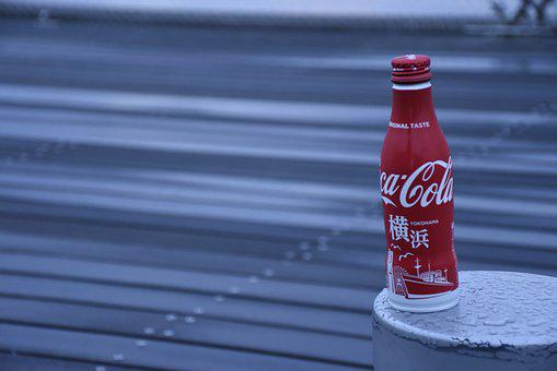 Yokohama, Coca-cola, Cola, Japan, Drink, Coke