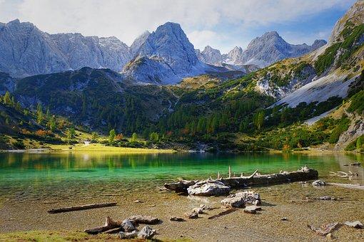 Mountains, Landscape, Rock, Mountain