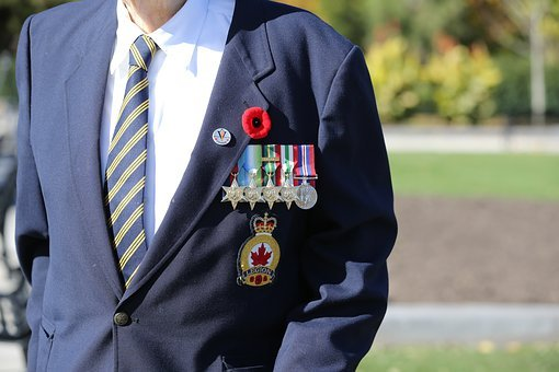 Remembrance Day In Canada, Military Personnel