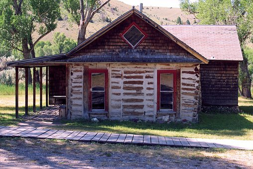 Graeter House, Montana, Usa, Bannack, Ghost Town