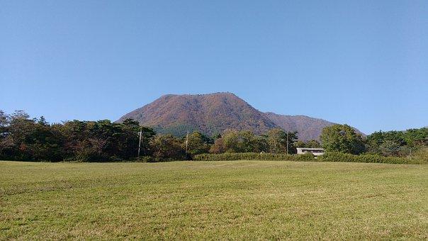 Mount, Mountain, Akagi, Japan, Landscape, Sky, Blue