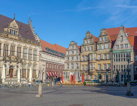 Bremen, Old Town, Places Of Interest, Historically