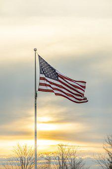 Flag, Usa, American, Patriotic, Stripes, Patriotism