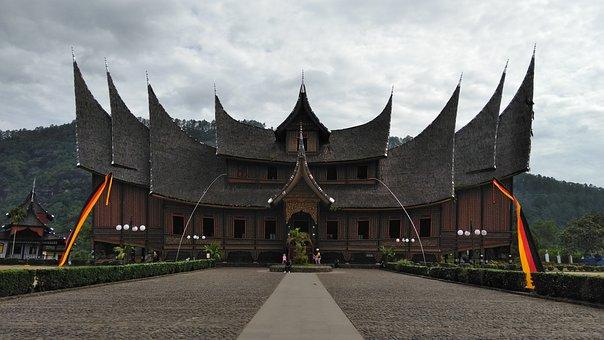Palace, Rumah Gadang, Custom Home, Minang Tribe