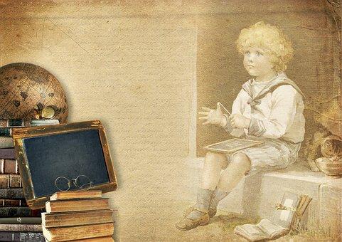 Books, Globe, Child, Boy, Board, School, Learn, Know
