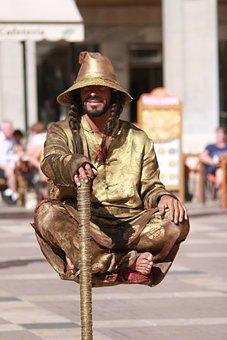 Jester, Street Artists, Illusionist