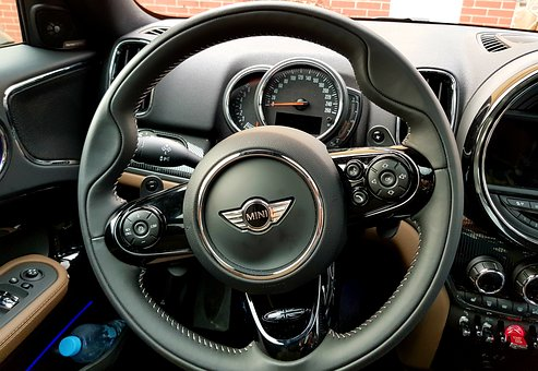Mini, Countryman, The Interior Of The, Steering Wheel