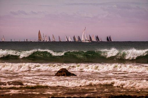 Sea, Boats, Ocean, Water, Sailboat, Travel, Summer