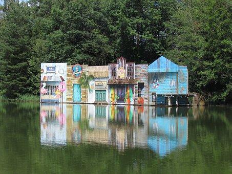 Water, Lake, Show, Nature, Landscape, Beautiful, Waters