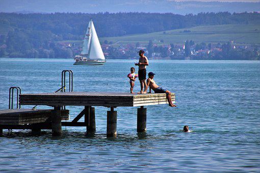 Platform, The Pier, Lake, Water, Relaxation, Tourism