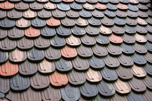 Haut Koenigsberg, Alsace France, Slate Tiles