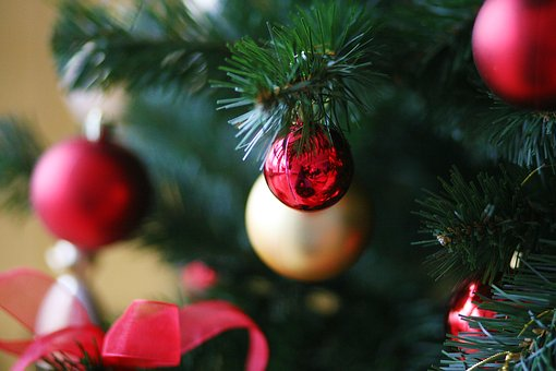 New Year's Eve, Christmas Tree, Holiday, Ball