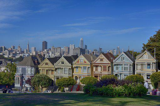 Painted Ladies, San Francisco, California, City