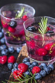 Beverage, Blueberry, Cold Water, Detox, Drink, Fresh