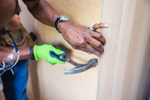 Handyman, Furniture Assembly, Hammer, Nail, Assembly