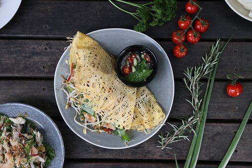 Egg Net, Thai Food, Ingredient, Huahom Design