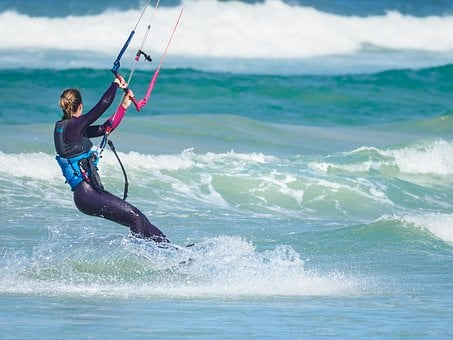 Kite Boarder, Kite Boarding, Kite Surfing, Kite-surfing