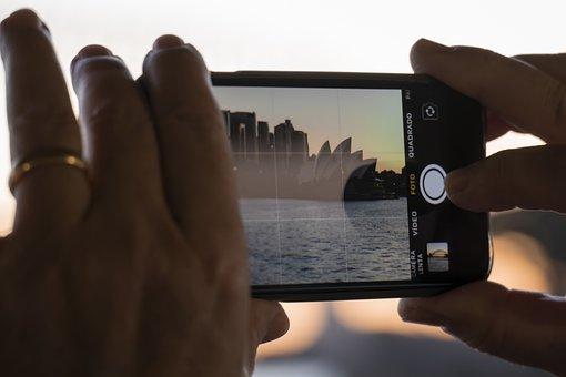 Iphone, Mobile Phone, Camera, Image, Photo, Recording
