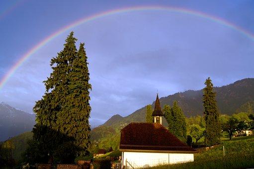 Rainbow, Paint Colors, Colorful, Nature, Phenomenon