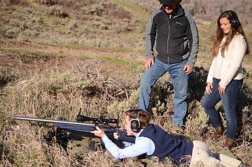 Long Range Rifle, Nomad Rifleman, Long Range Shooting