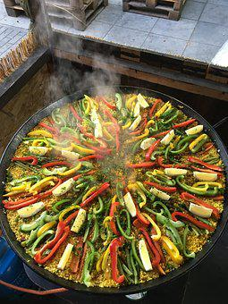 Paella, Spain, Rice, Food, Party, Nutrition, Delicious