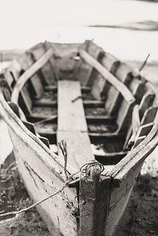Canoe, Abandoned, Earth, Vacuum, Old, Detail, Wood