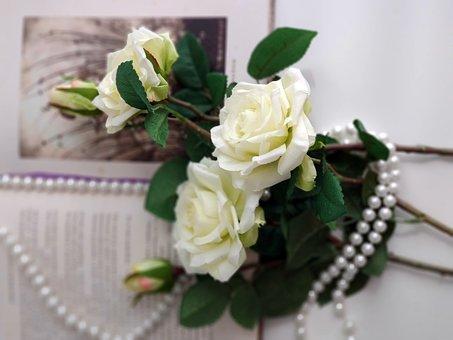 Roses, Polka Dots, Pearls, Book
