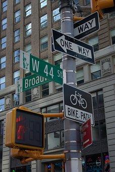 Traffic Sign, Traffic Lights, Road Sign, Road