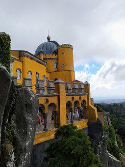 Sintra, Palace Da Pena, Portugal
