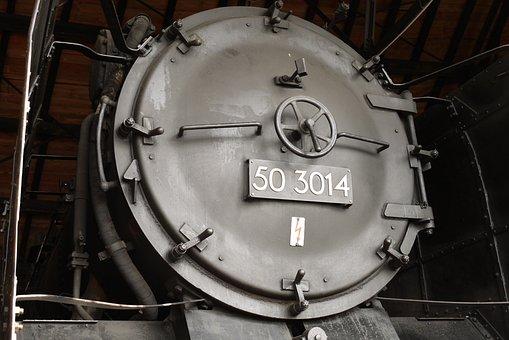Steam Locomotive, Boiler, Smoke Chamber
