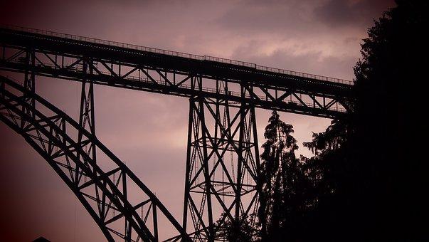 Müngsten Bridge, Bridge, Steel Structure, Architecture