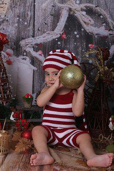 Christmas, Stripes, Gold, Celebration, Striped, Red