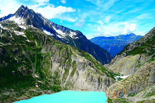 Mountain, Swiss Alps, Bernese Oberland