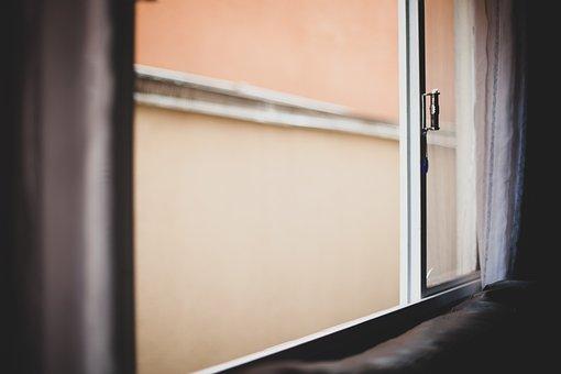 Window, Door, Portal, Passage, Vintage, Entry, Output