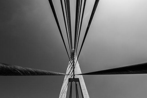 Minimalism, Black And White, Simplicity, Composition