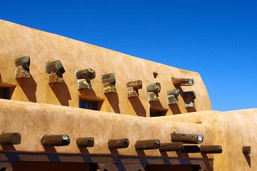 White Sands Adobe, New Mexico, Building, Adobe