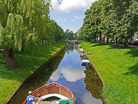 Friedrichstadt, Channel, Canal, Dutch Settlement