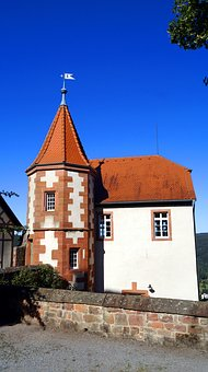 Dilsberg, Castle, Ruin, Middle Ages, Fortifications