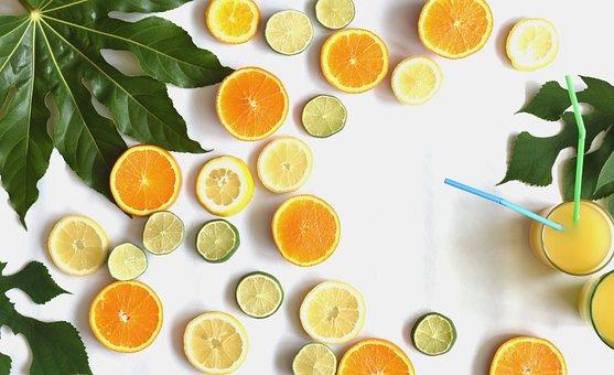 Citrus, Fruits, Slices, Summer, Party, Vitamins, Food