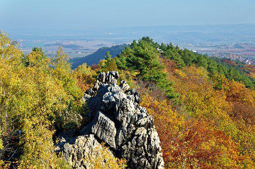 Germany, Resin, Devil's Wall, Cliff, Rock, Landscape