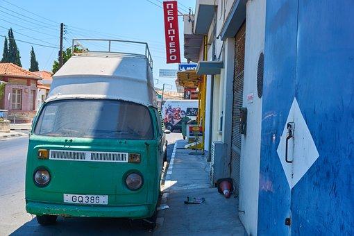 Cyprus, Auto, Old, Vehicle, Rusty, Road, Retro