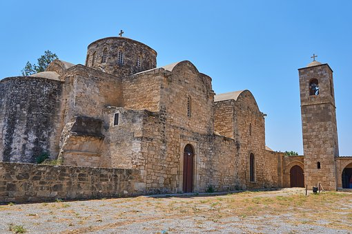 Cyprus, Monastery, Old, Religion, Architecture, Church