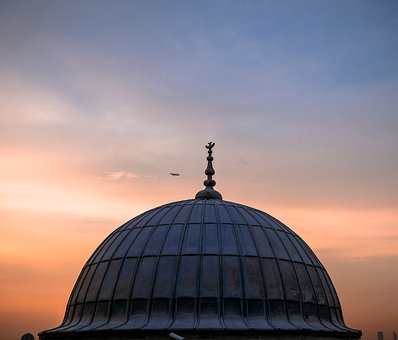 Istanbul, Dome, Turkey, Cami, Minaret, Sky, Faith, City