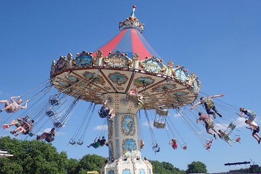Swings, Funfair, Fun, Amusement, Park, Ride, Fair